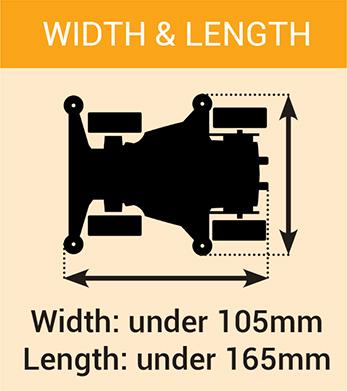 width length mini4wdstreet