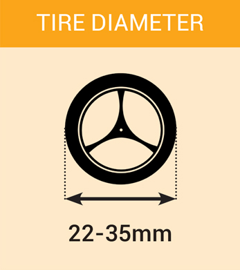 tire diameter mini4wdstreet