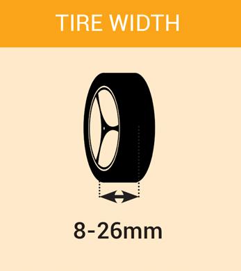 tire width mini4wdstreet